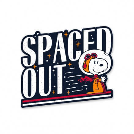 Spaced Out - Peanuts Official Sticker