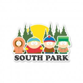 Squad - South Park Official Sticker