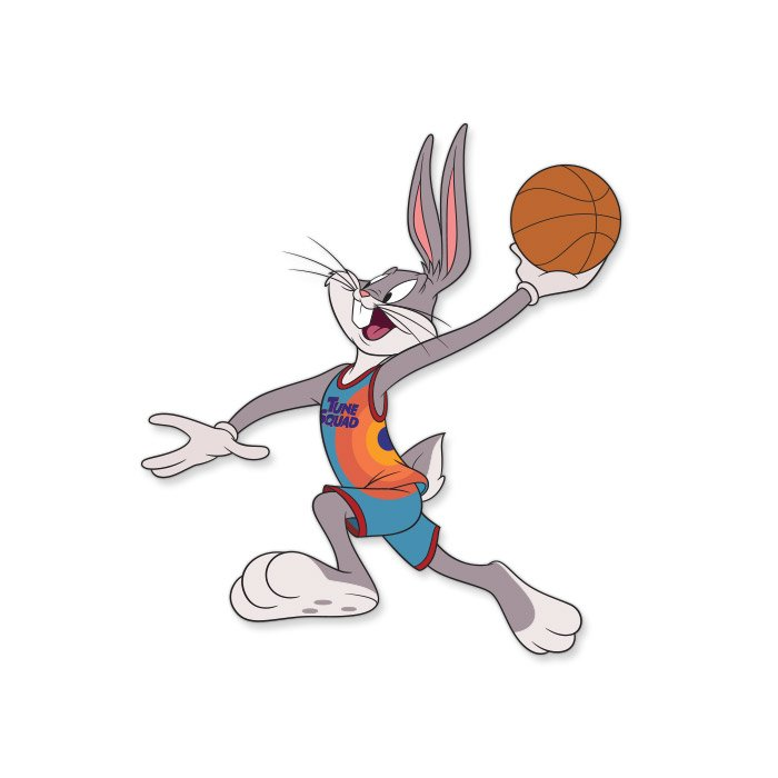 Space Jam: Bugs - Looney Tunes Official Sticker