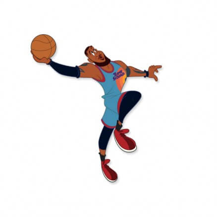 Space Jam: LeBron James - Looney Tunes Official Sticker