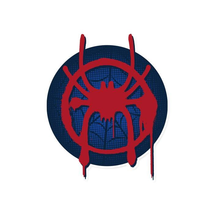 Spider-Verse: Miles Morales Logo - Marvel Official Sticker
