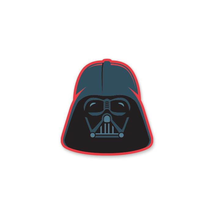 Darth Vader Mask - Star Wars Official Sticker
