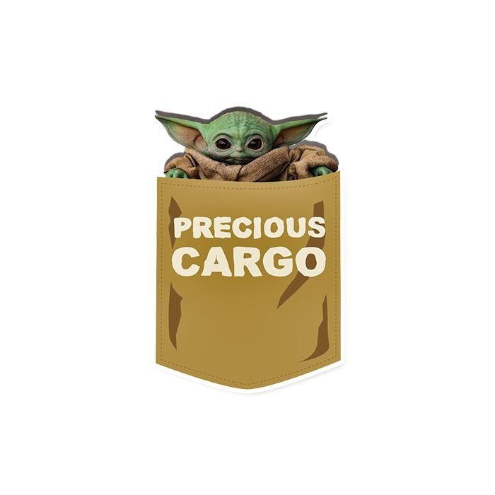 Precious Cargo - Star Wars Official Sticker