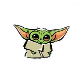 The Little One - Star Wars Official Sticker