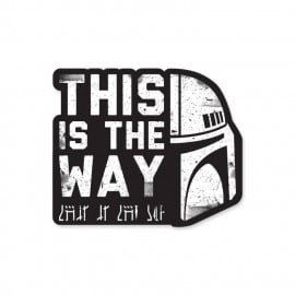 This Is The Way - Star Wars Official Sticker