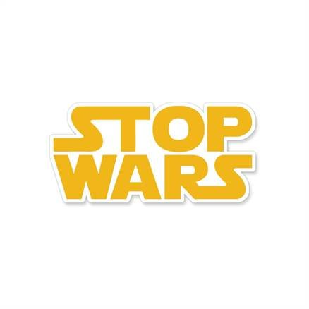 Stop Wars - Sticker
