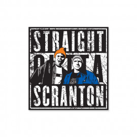 Straight Outta Scranton - Sticker