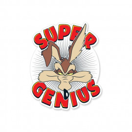 Super Genius - Looney Tunes Official Sticker