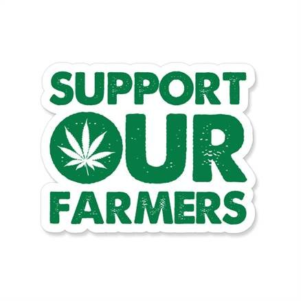 Support Our Farmers - Sticker