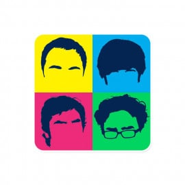 TBBT Gang - The Big Bang Theory Official Sticker