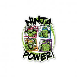 Ninja Power - TMNT Official Sticker