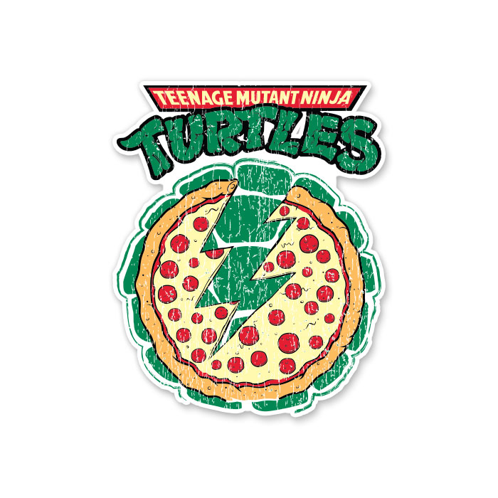 Pizza Power - TMNT Official Sticker
