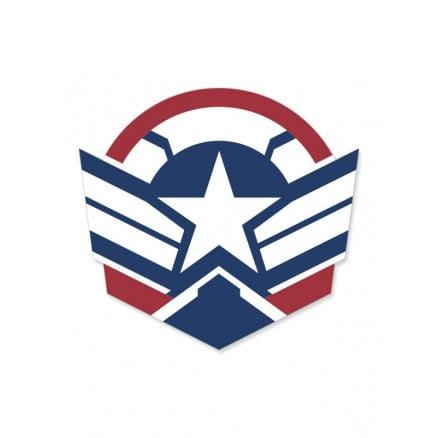 The Falcon Emblem - Marvel Official Sticker