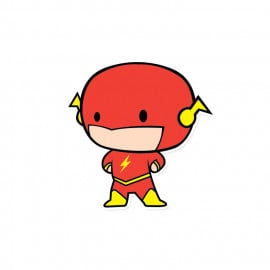 The Flash Chibi - DC Comics Official Sticker