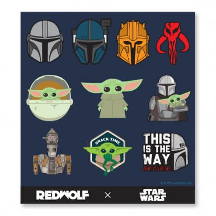 The Mandalorian - Star Wars Official Sticker Sheet