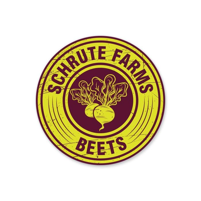 Schrute Farms Beets - Sticker