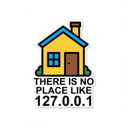 There Is No Place Like Home - Sticker