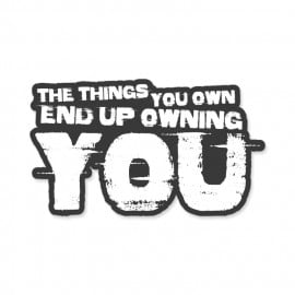 Things You Own - Sticker
