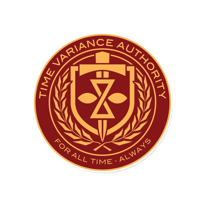 Time Variance Authority - Marvel Official Sticker