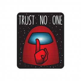 Trust No One - Sticker