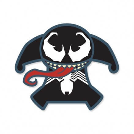 Venom Chibi - Marvel Official Sticker