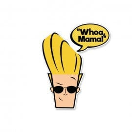 Whoa Mama - Johnny Bravo Official Sticker