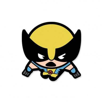 Wolverine Chibi - Marvel Official Sticker