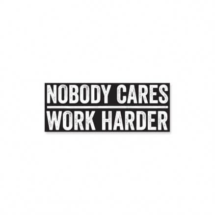 Work Harder - Sticker
