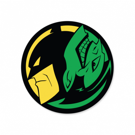 Yin And Yang - Official DC Comics Sticker