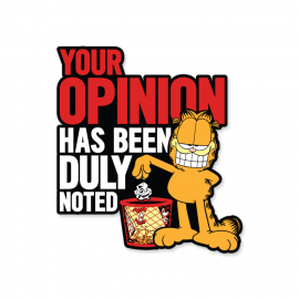 Your Opinion - Garfield Official Sticker