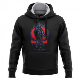 Alpha And Omega - Justice League Official Hoodie
