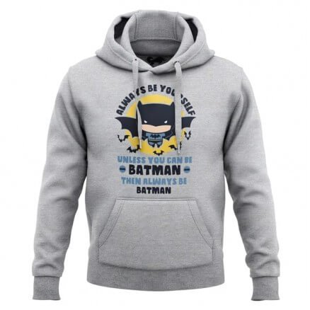 Always Be Batman - Batman Official Hoodie