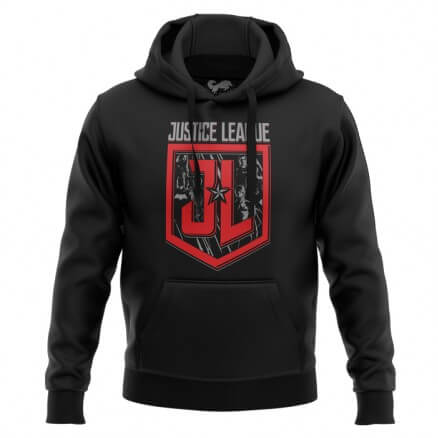 JL: Badge - Justice League Official Hoodie