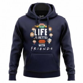 Life Is Better With Friends - Friends Official Hoodie