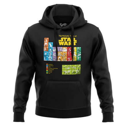 Periodic Table - Star Wars Official Hoodie