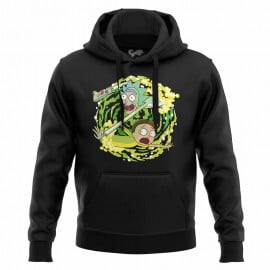 Portal Travel - Rick And Morty Official Hoodie