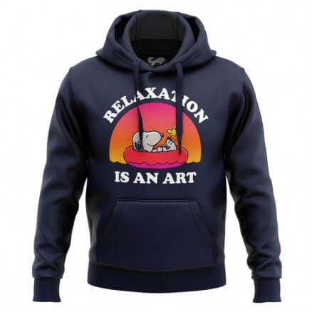 Relaxation Is An Art - Peanuts Official Hoodie