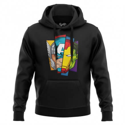 The First Avengers - Marvel Official Hoodie