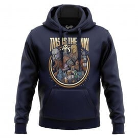 The Mandalorian Group - Star Wars Official Hoodie