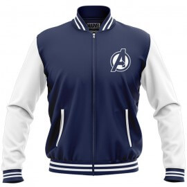 Avengers Logo - Marvel Official Jacket