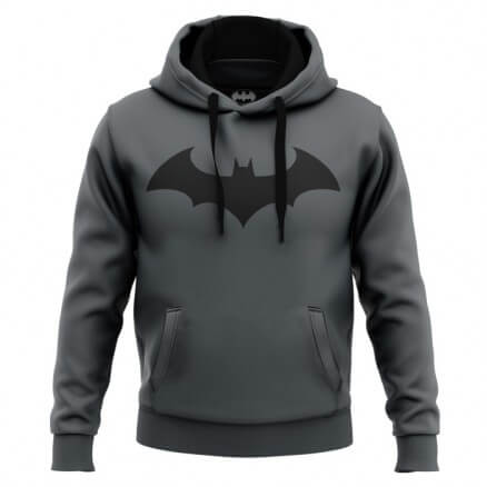 Batman Emblem - Batman Official Hoodie [PRE-ORDER - SHIPS ON 1ST DECEMBER 2020]