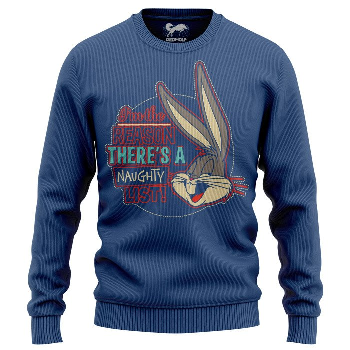 Naughty List - Bugs Bunny Official Light Pullover