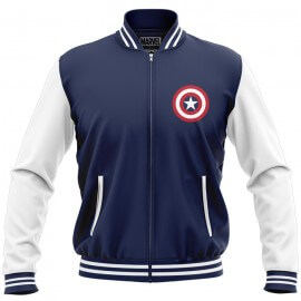 Captain America Logo - Marvel Official Jacket