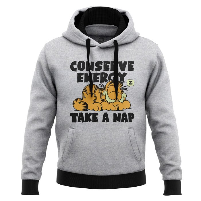 Conserve Energy - Garfield Official Hoodie