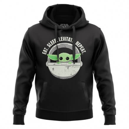 Eat Sleep Levitate Repeat - Star Wars Official Hoodie