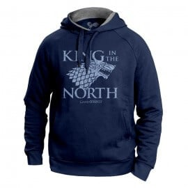 King In The North - Game Of Thrones Official Hoodie