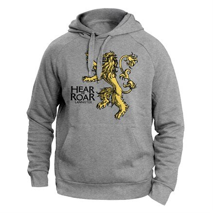 Hear Me Roar - Game Of Thrones Official Hoodie