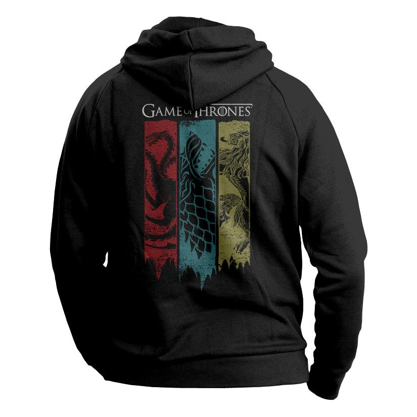 Sigil Banner - Game Of Thrones Official Hoodie