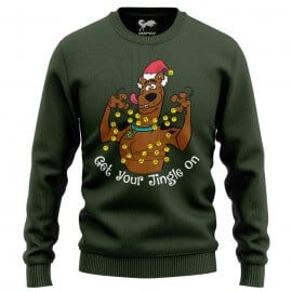 Get Your Jingle On - Scooby Doo Official Light Sweatshirt