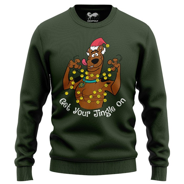 Get Your Jingle On - Scooby Doo Official Light Pullover